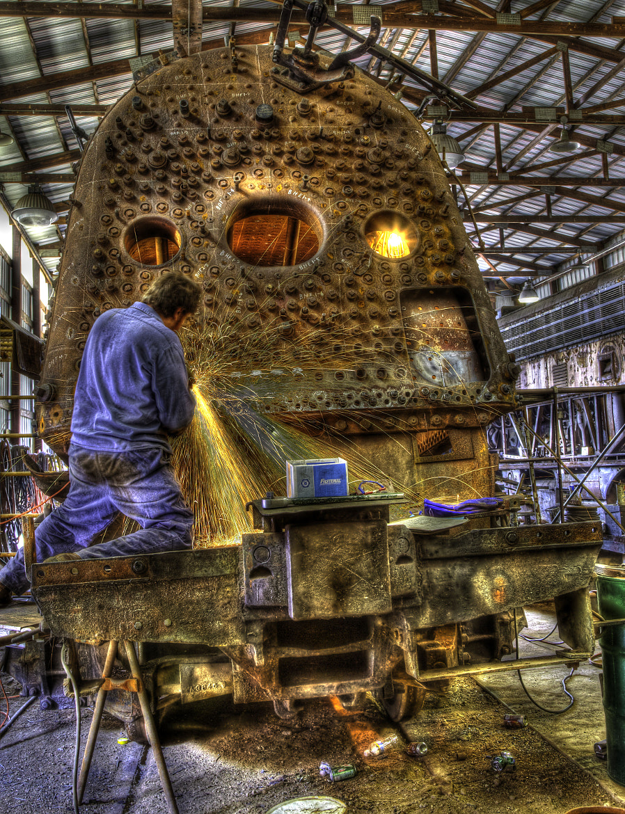 Photograph Train Restoration by Kevin Raber on 500px