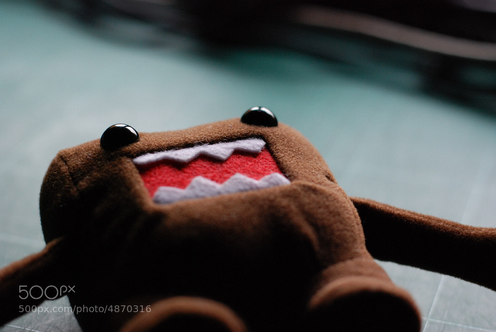 Photograph Domo Kun by david alandí on 500px