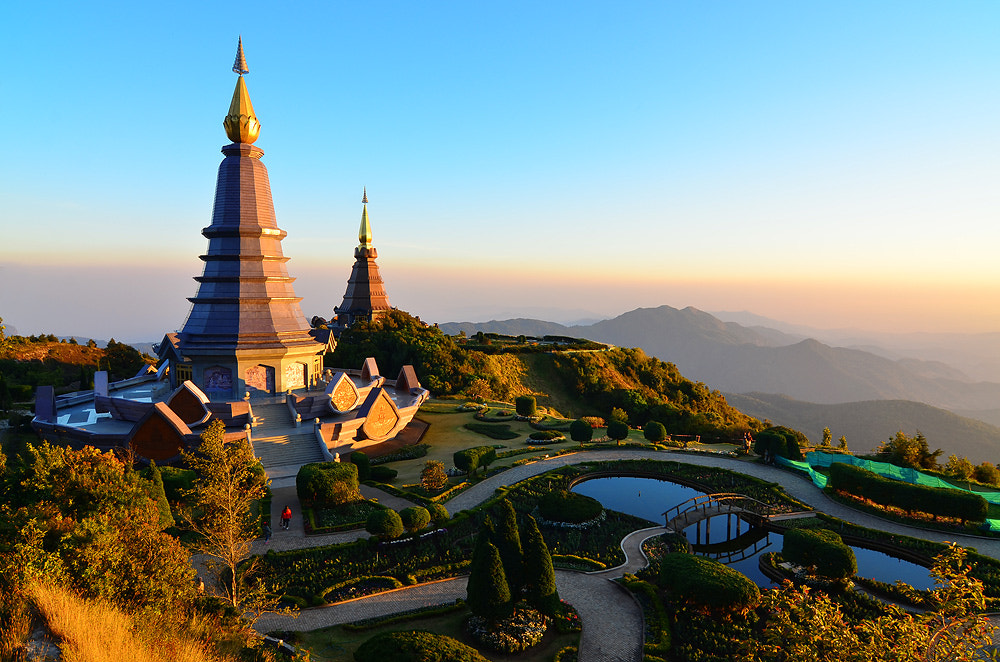 Photograph The Two Stupa by Anuwat L on 500px