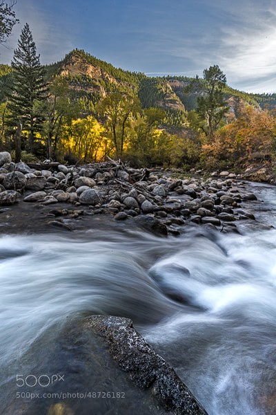Photograph Moutain Stream by Marshall Lipp on 500px