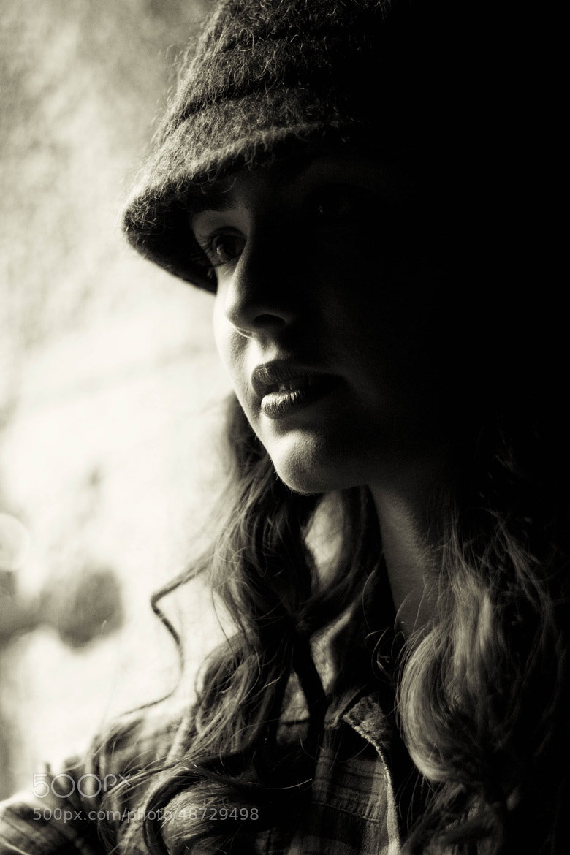 Photograph B/W Melania by Antonella Renzulli on 500px