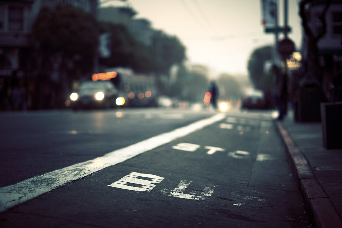 Photograph bus stop by Sparth (Nicolas Bouvier) on 500px