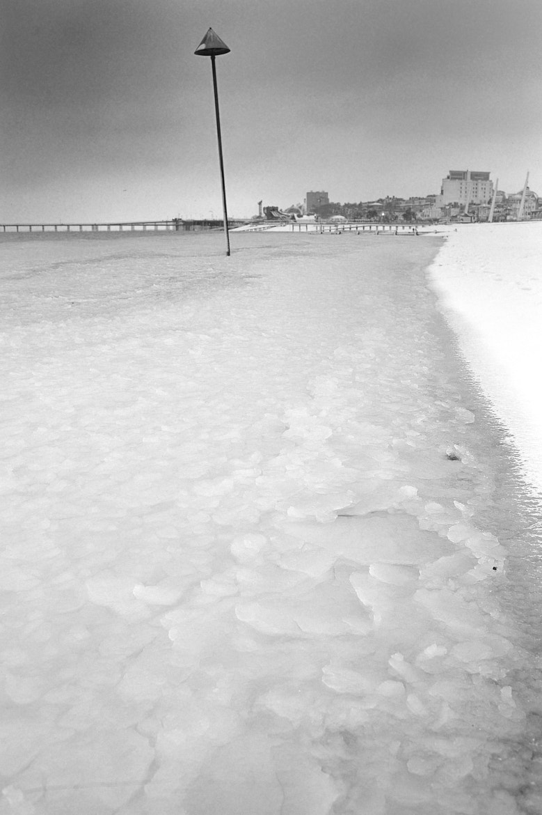 Photograph Frozen sea by Paul Hughes on 500px