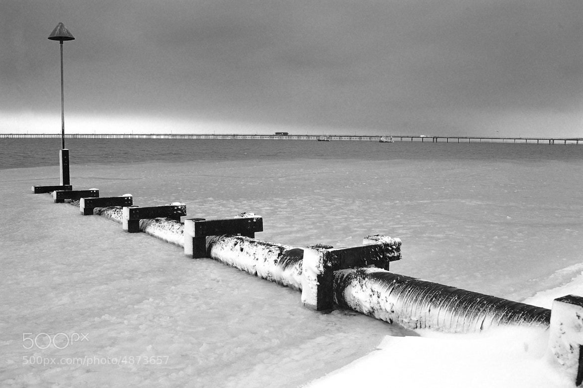 Photograph Frozen seacape by Paul Hughes on 500px