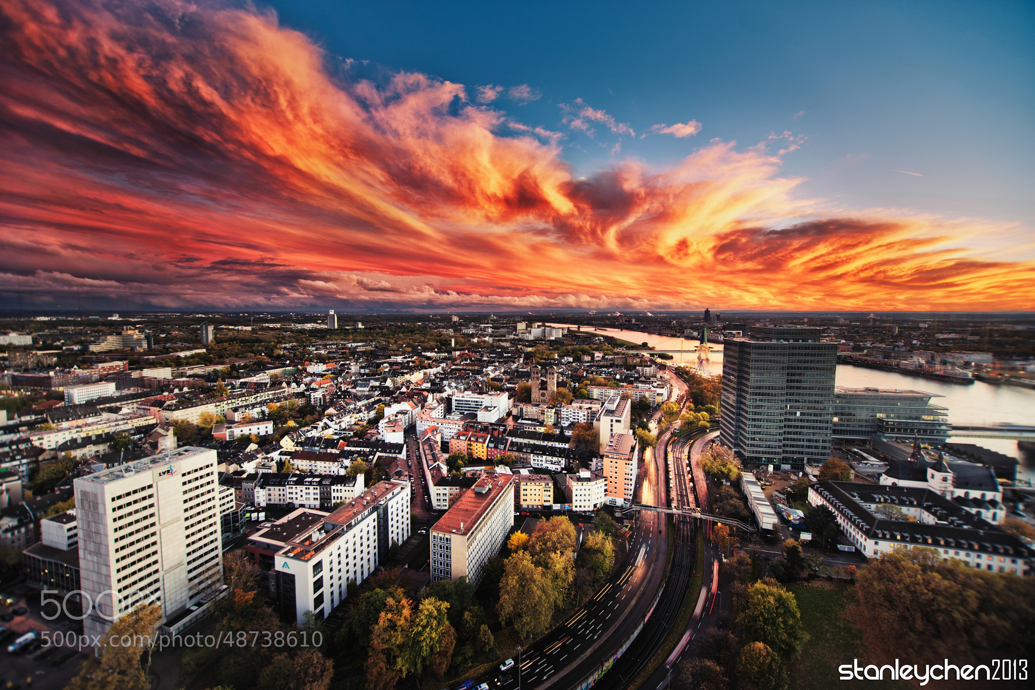 Photograph The Burning Phoenix——City of Cologne by Stanley Chen Xi on 500px