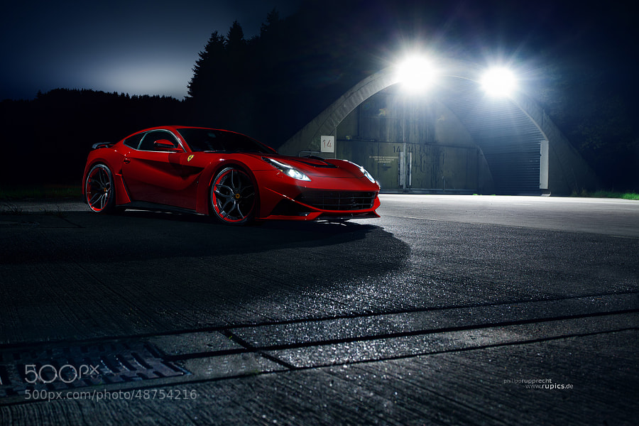 Photograph Ferrari F12 Novitec Rosso N-Largo by Philipp Rupprecht on 500px