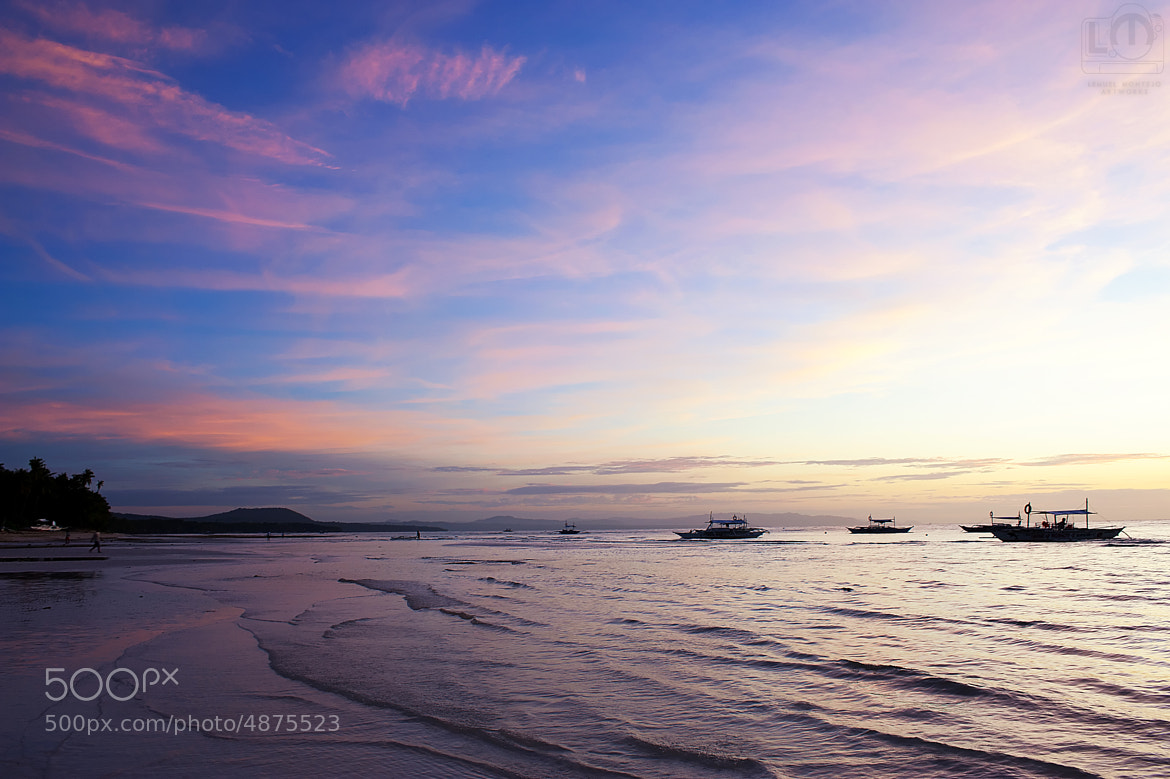 Photograph Panglao Sunrise by Lemuel Montejo on 500px