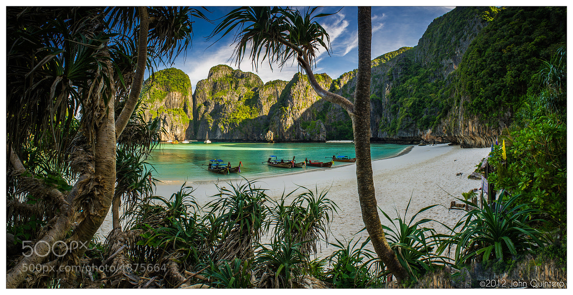 "Photograph Maya Bay ""The Beach"" by John Quintero on 500px"