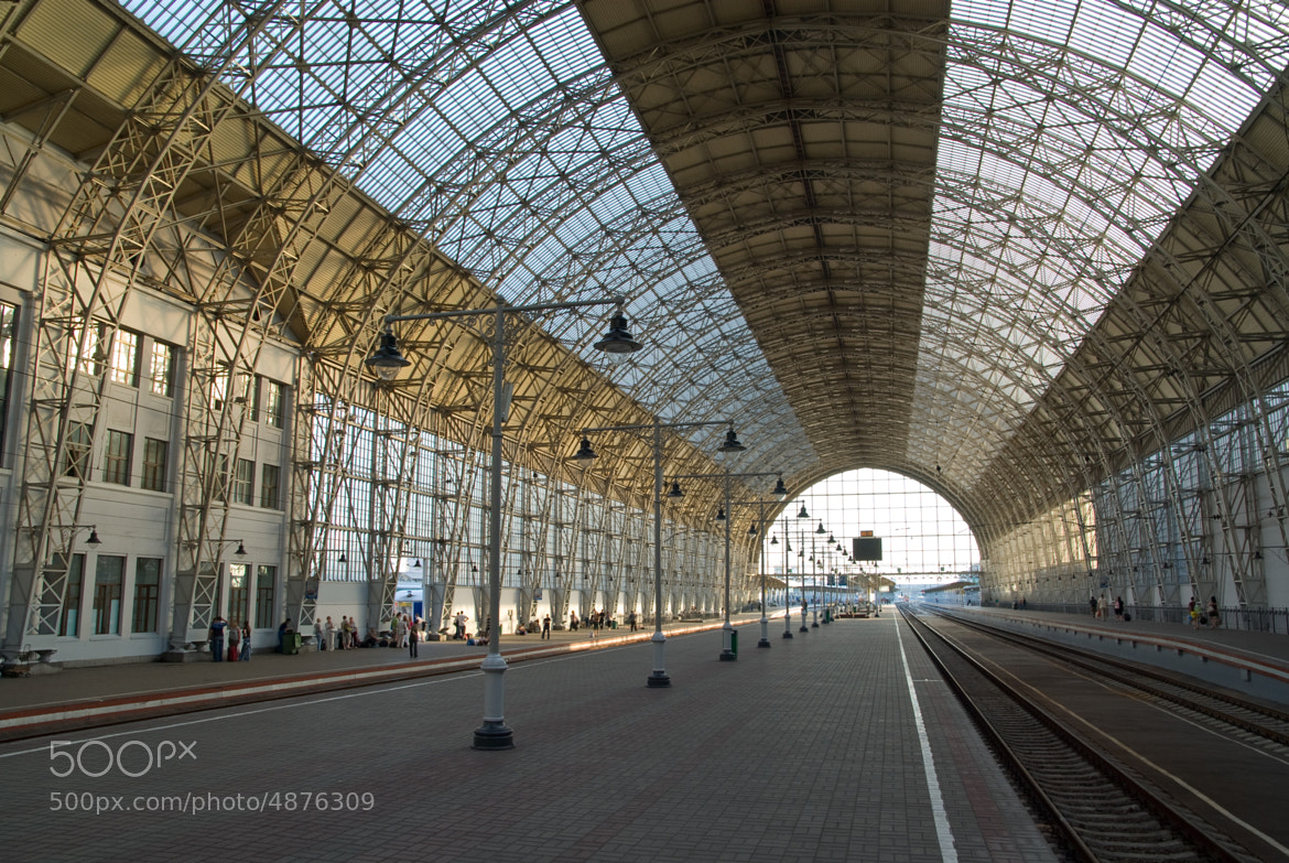 Photograph Railway station by Nickolay Belostotsky on 500px