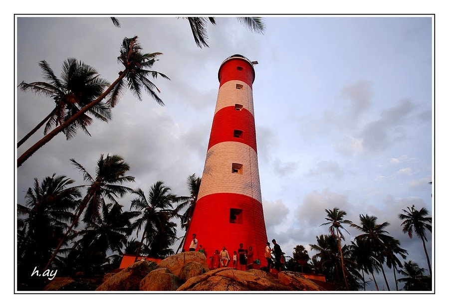 Photograph Kovalam lighthouse by HUSEYIN AY on 500px