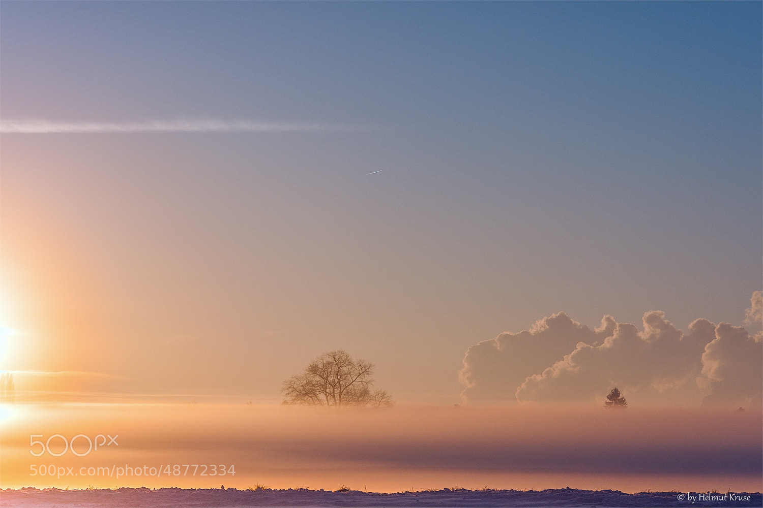 Photograph Clouds and Sunrise by Helmut Kruse on 500px