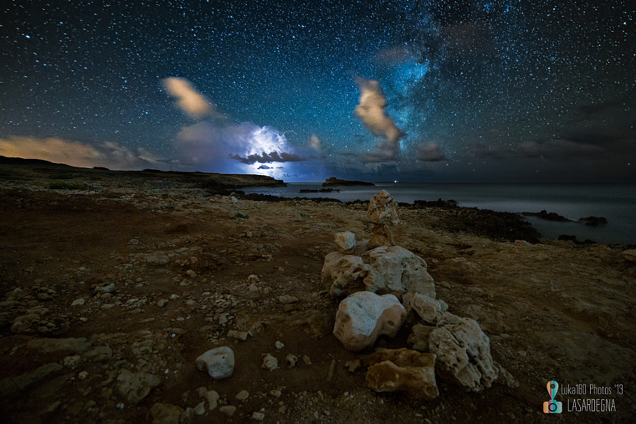 Lightning & MilkyWay - Capo Mannu