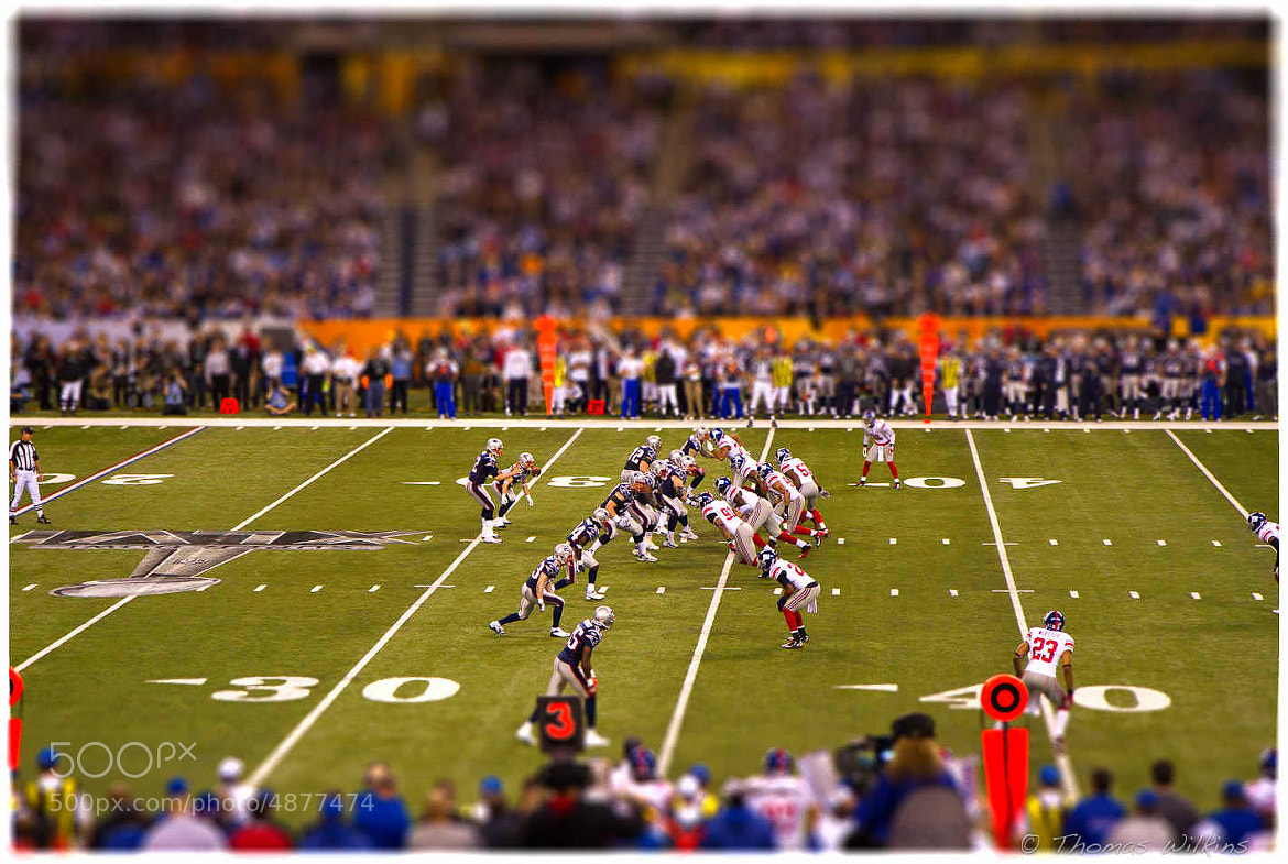 Photograph Electric Super Bowl XLVI by Tom Wilkins on 500px
