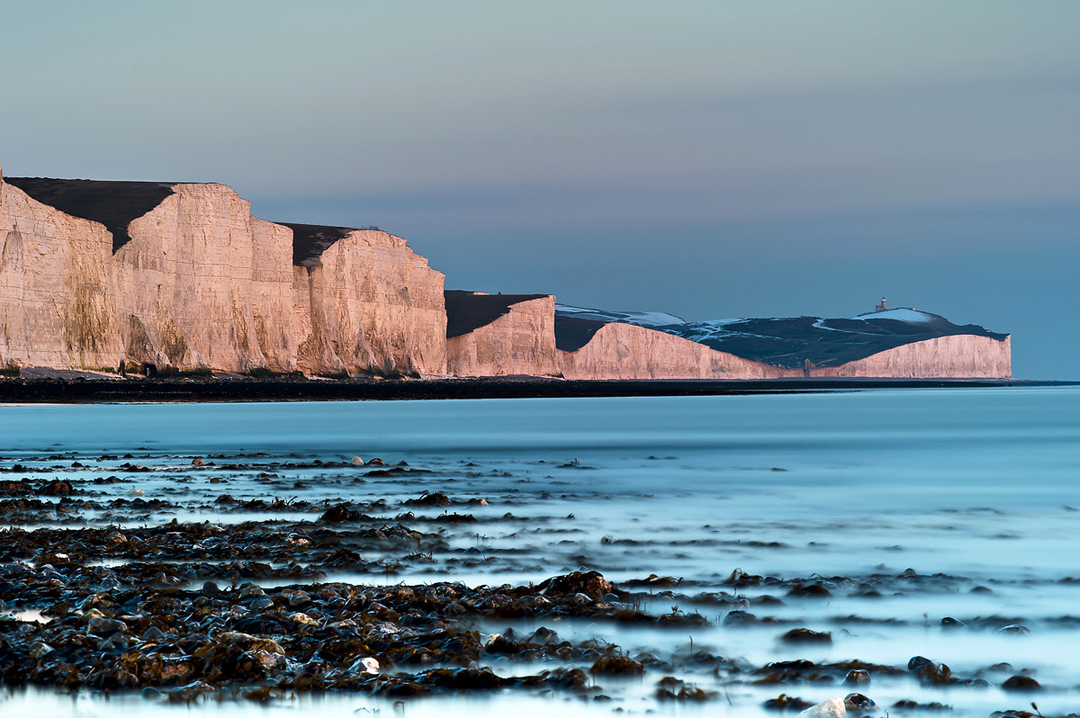Photograph seven sisters - winter sunset  by Artur Maczka on 500px