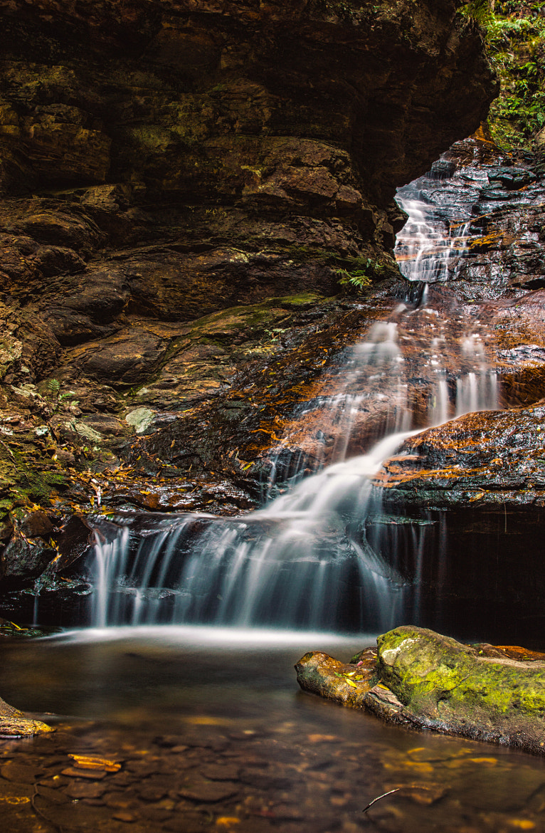 Photograph Emperor Falls, Blue Mountains, NSW by J Tan-Torres on 500px