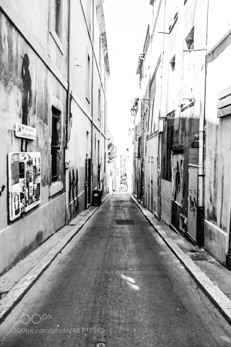 Photograph Empty Alley Walk in Marseille by Cody Marshall on 500px