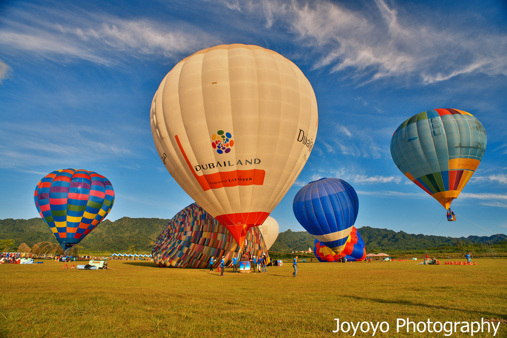 Photograph Ballons by Yong-Cyuan Chen on 500px
