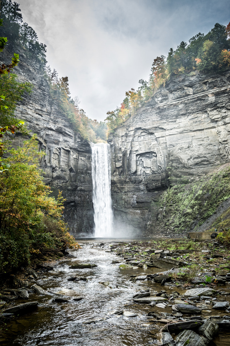 Photograph At the Base of Taughnnock Falls by Pratik  on 500px