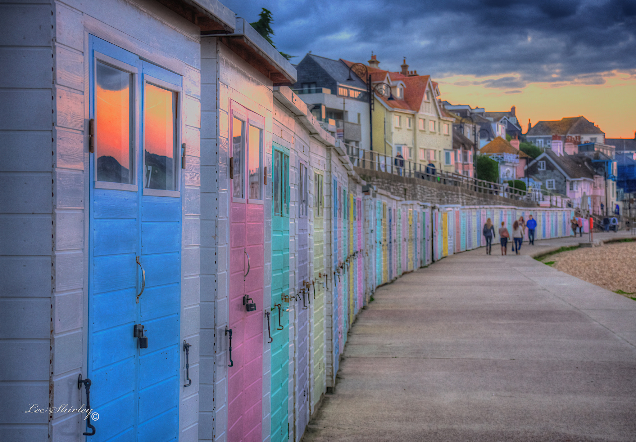 Photograph beach huts by Lee Shirley on 500px
