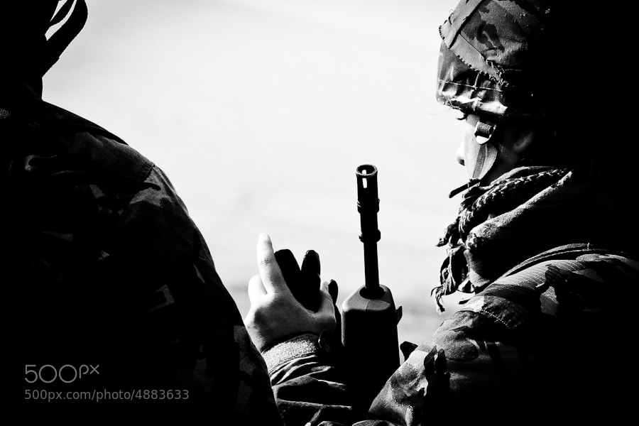Photograph On Training with the Territorial Army by Haje Jan Kamps on 500px