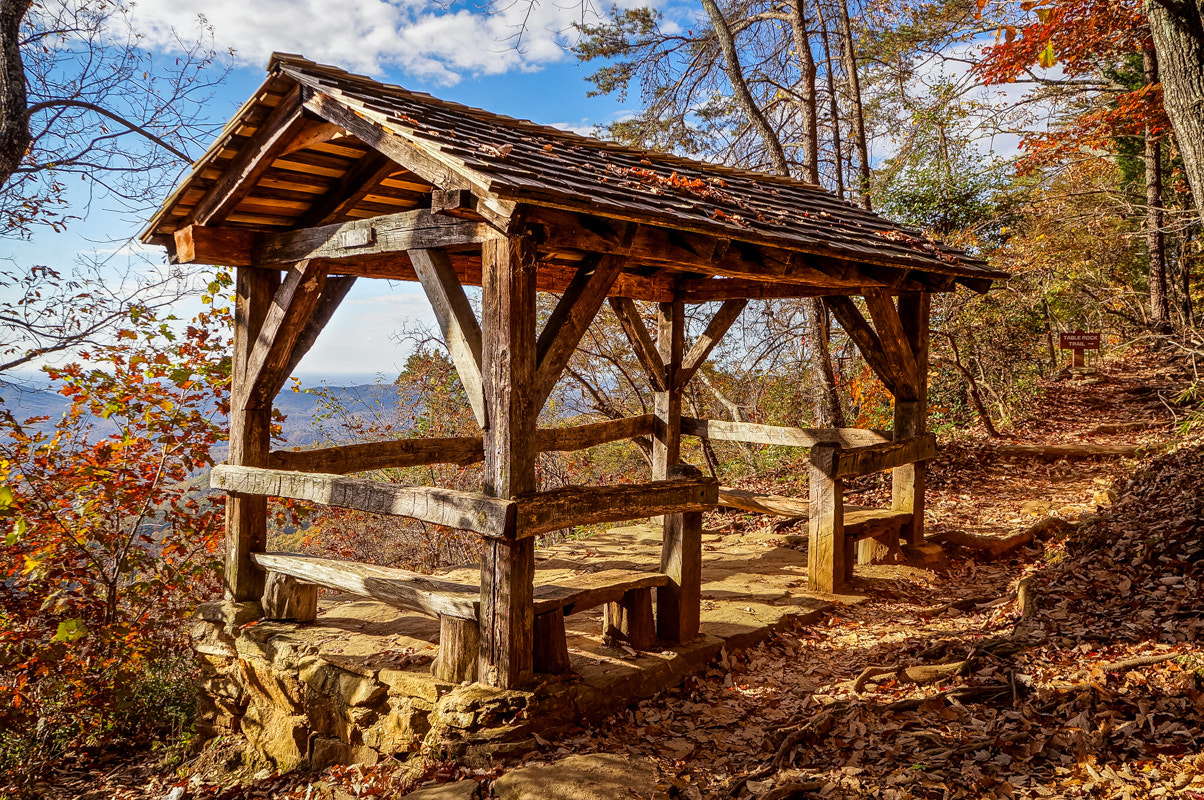 Photograph Trailside Shelter by Chilehead Craig on 500px