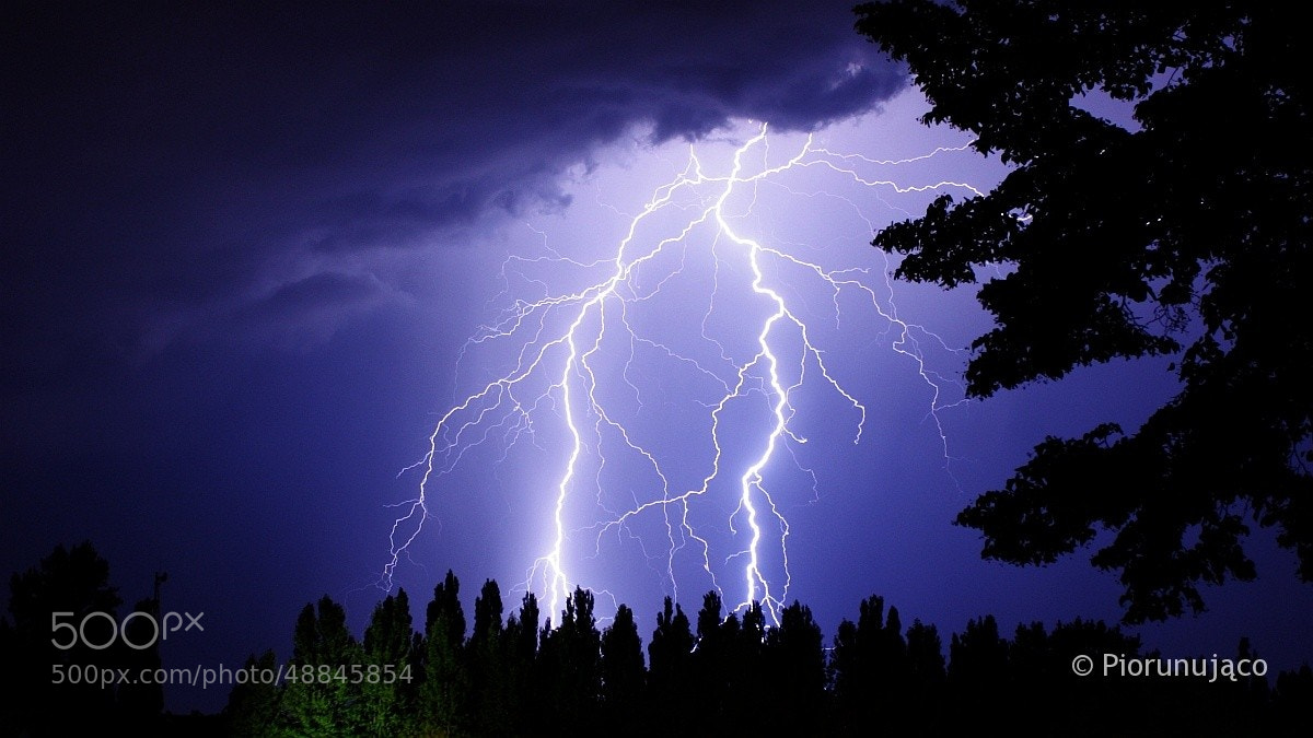 Photograph Lightning in Poland 2013 by Leszek Piorunująco on 500px