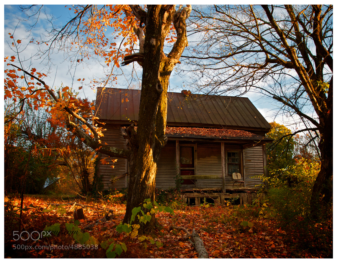Photograph Autumn House by Warren Verity on 500px