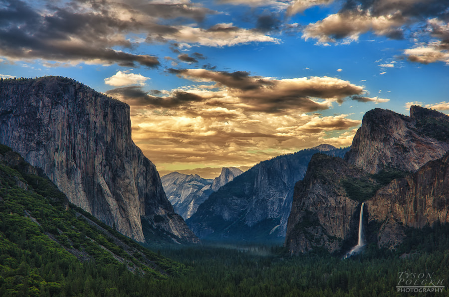 Photograph Tunnel View by Tyson Poeckh on 500px