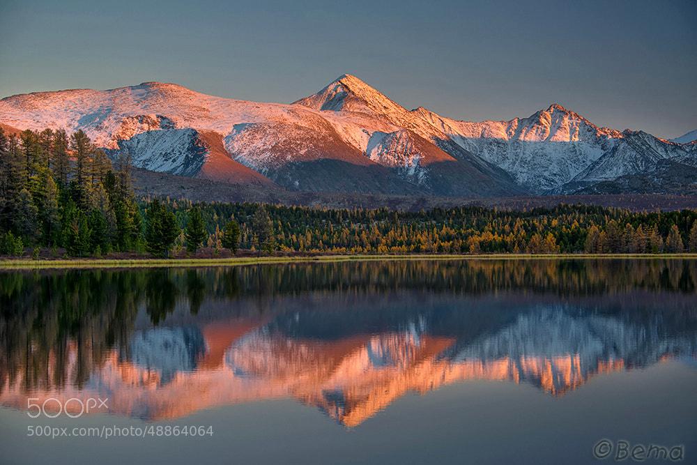 Photograph Sunset on the lake Kedelyu by Svetlana Shupenko on 500px