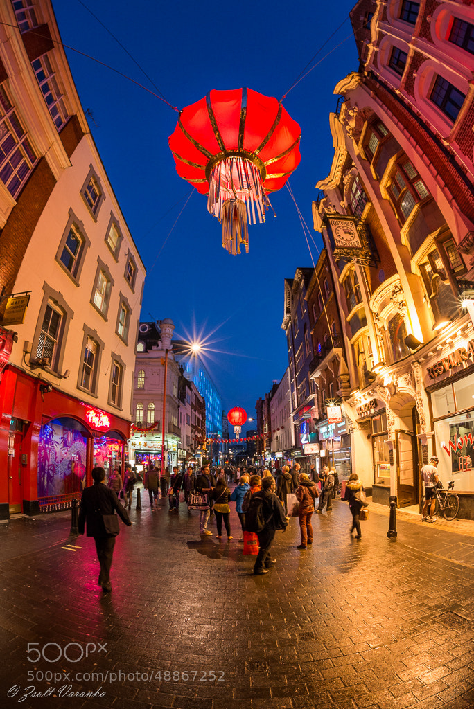 Photograph China street in London by Zsolt Varanka on 500px