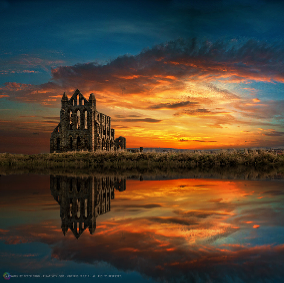 Photograph Whitby Abbey by Peter From on 500px