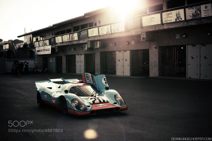 Porsche - Magazine cover