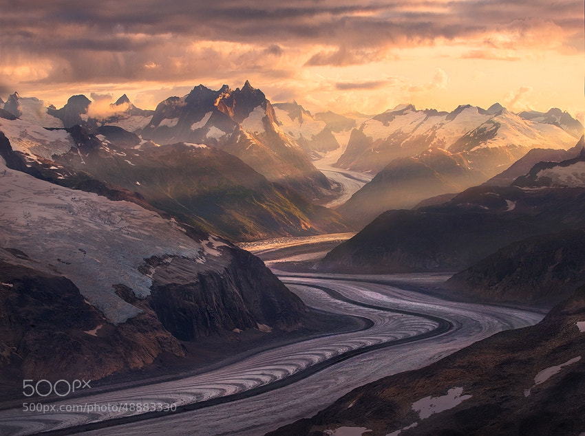 Photograph Ice River Mountains by Marc  Adamus on 500px