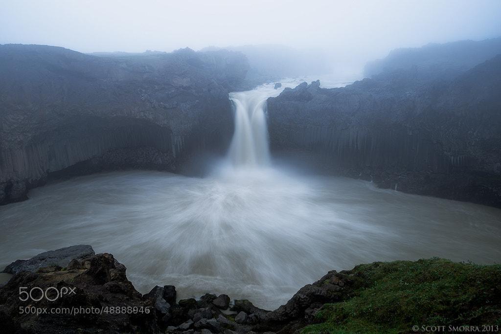 Photograph Aldeyjarfoss Fog by Scott  Smorra on 500px