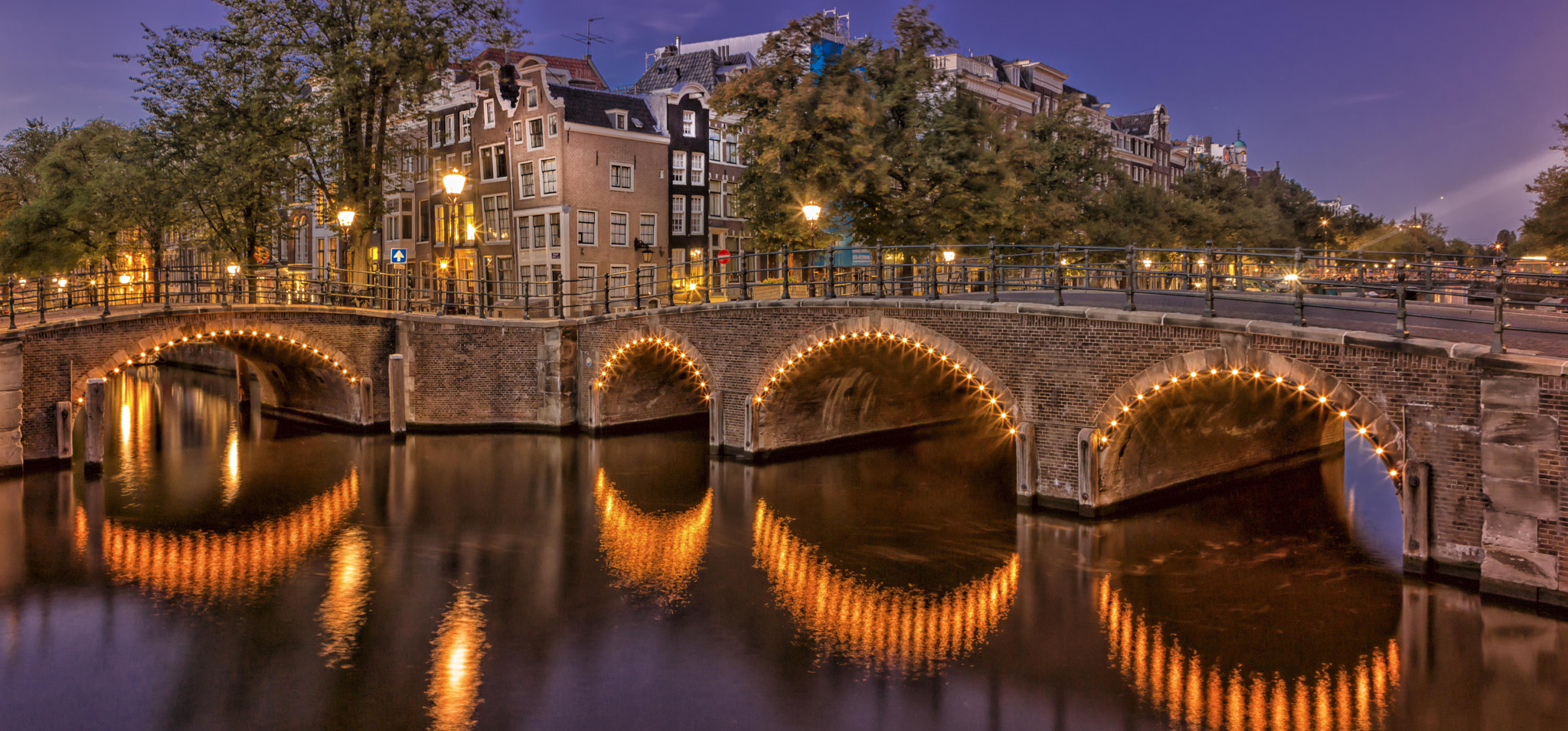 Photograph Amsterdam by night by steve H on 500px