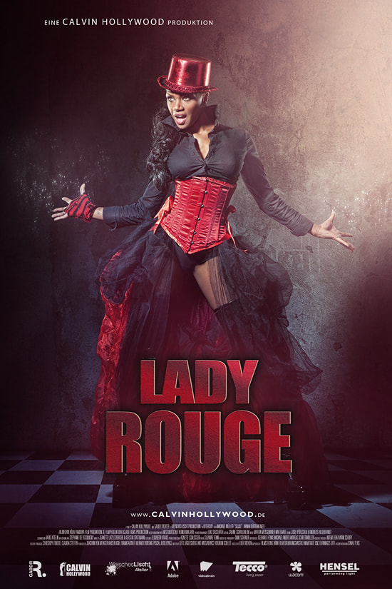 Photograph Cinematic: Lady Rouge by Calvin Hollywood on 500px