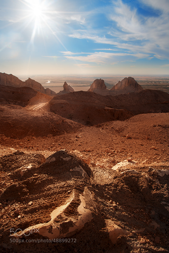 Photograph Until reaching the Horizon by Ali AlNuaimi on 500px