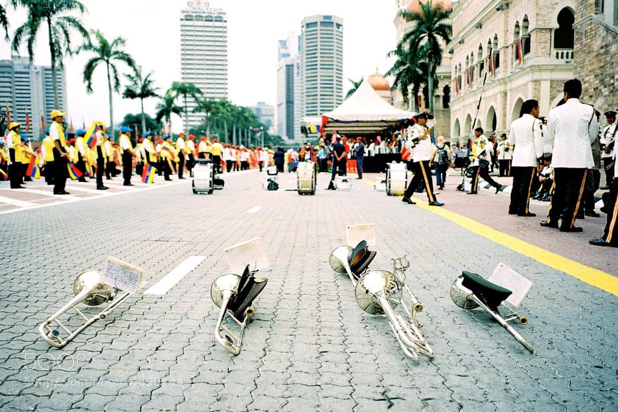 Celebration of Federal Territory Day in Kuala Lumpur, Malaysia.