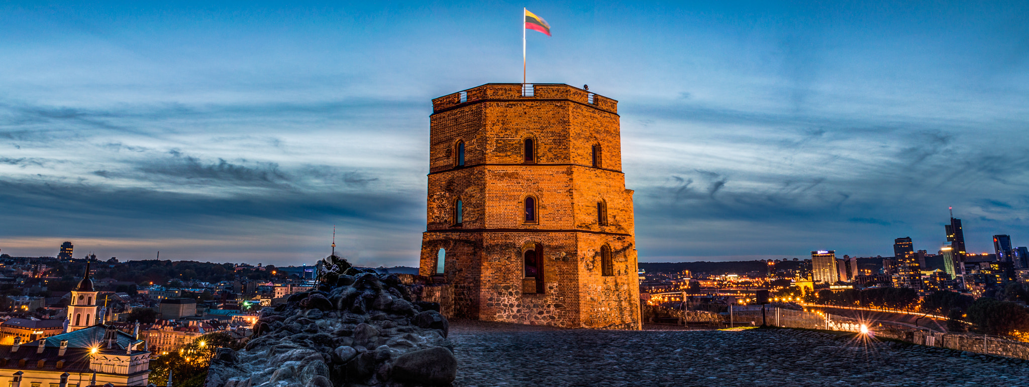 Photograph Gediminas Tower Panorama by Norbert Durko on 500px