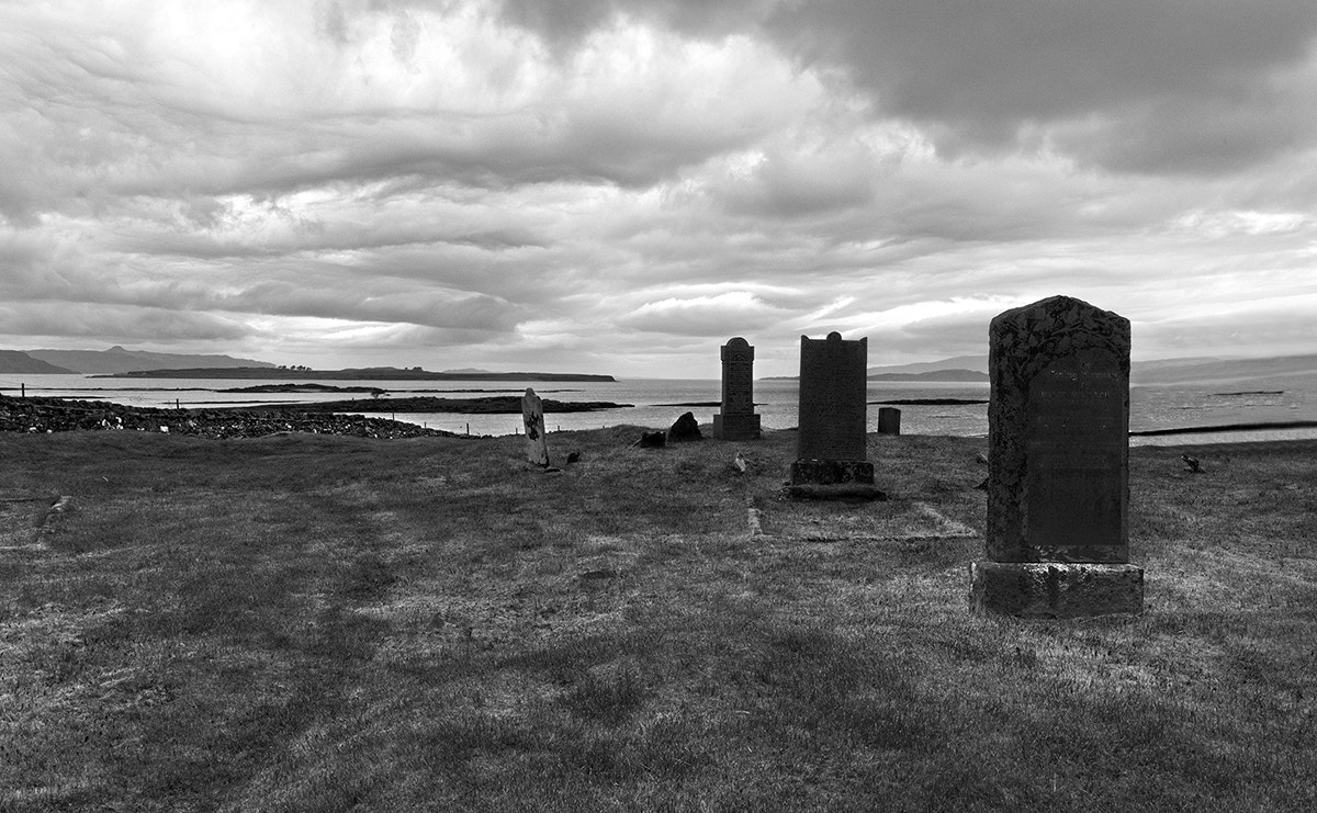 Photograph Aishaig Cemetery Isle of Skye by Cassius Photography on 500px