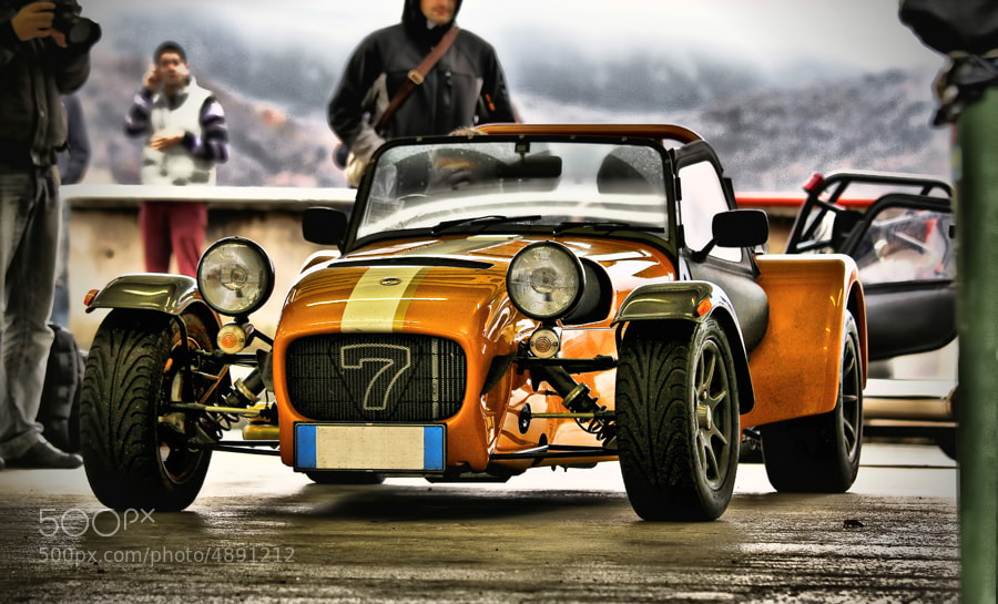 Photograph Caterham by Ivan Prebeg on 500px