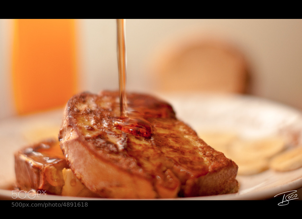 Photograph French toast by Beco  G. on 500px
