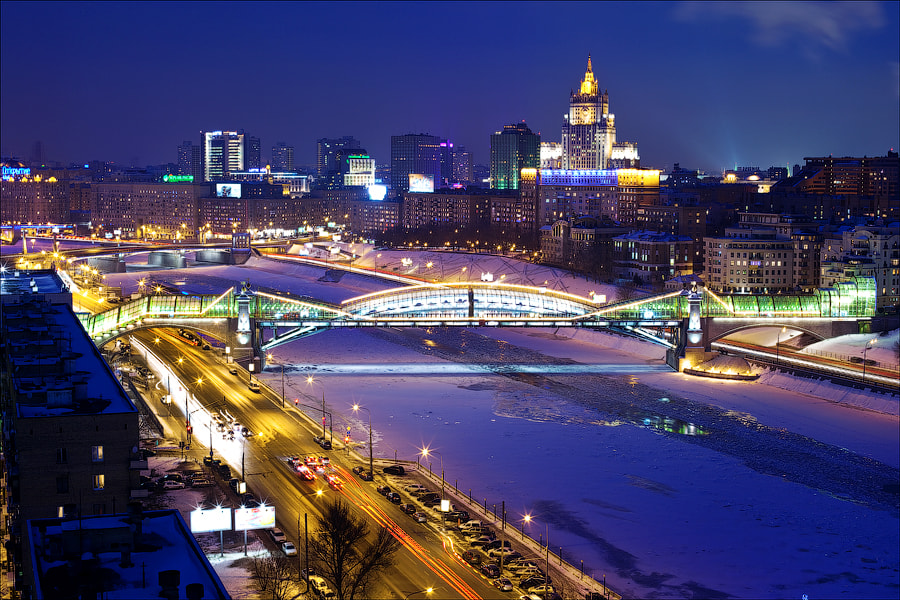 Photograph Night Moscow by Artem Lahtionov on 500px