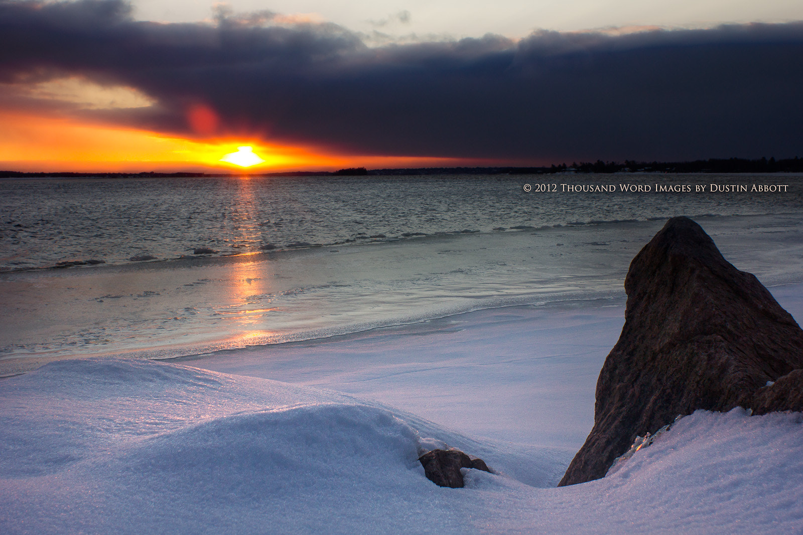 Photograph Chilly Sunrise by Dustin Abbott on 500px