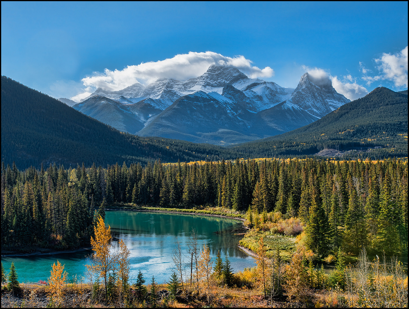 Photograph Canadian Rocky Mountains by Alex Gubski on 500px