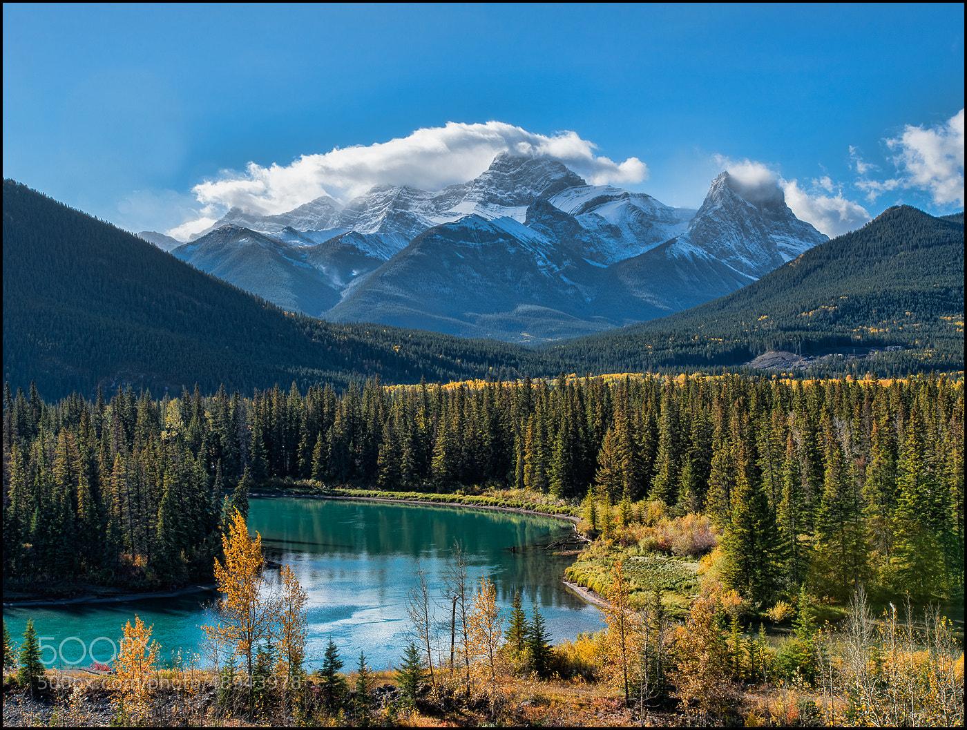 Photograph Canadian Rocky Mountains by Alex Gubski on 500px