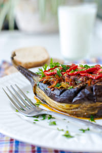Stuffed eggplant by Kimberly Potvin on 500px