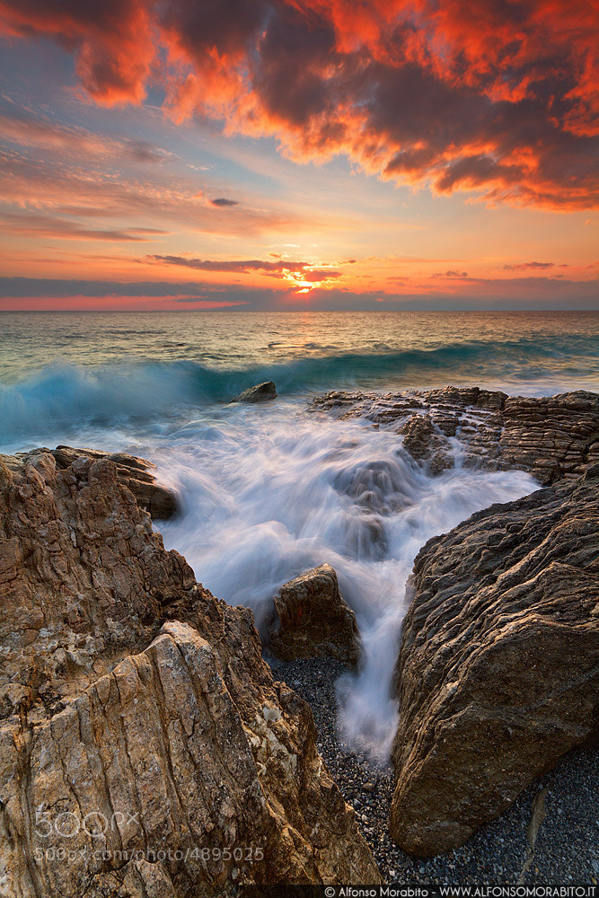 Photograph Creek Wave by Alfonso Morabito on 500px