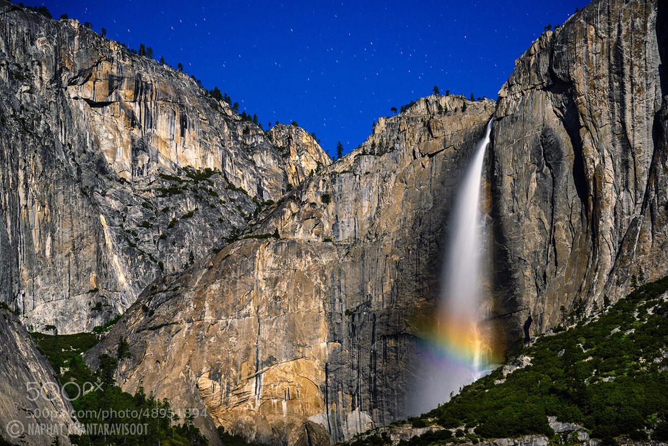Photograph Moonbow by Nae Chantaravisoot on 500px