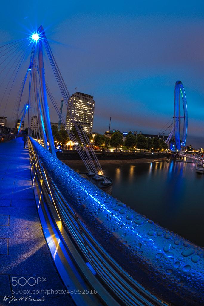 Photograph Golden Jubilee in blue by Zsolt Varanka on 500px